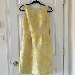 Tahari Arthur S. Levine Yellow Formal Dress Size 6
